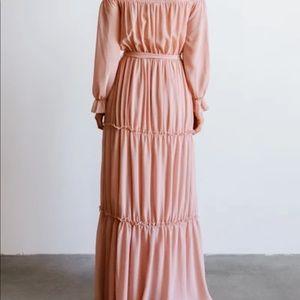 Baltic Born Dresses - Baltic Born off the shoulder full length dress